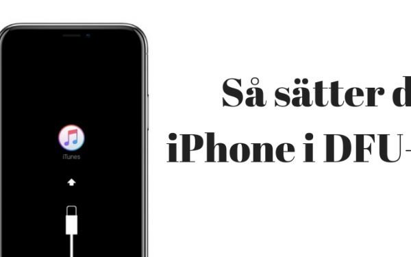 iPhone DFU Läge