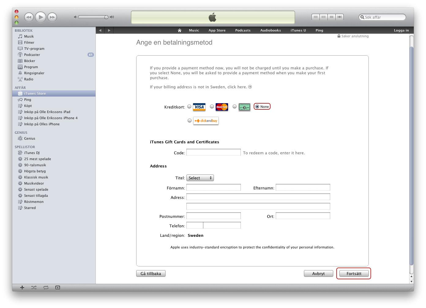 Dejtingsajt gratis utan registrering kreditkort