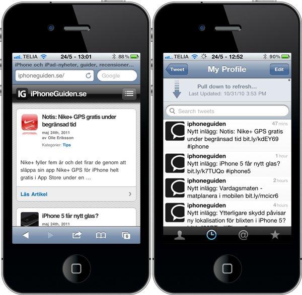 iphone store ikoner
