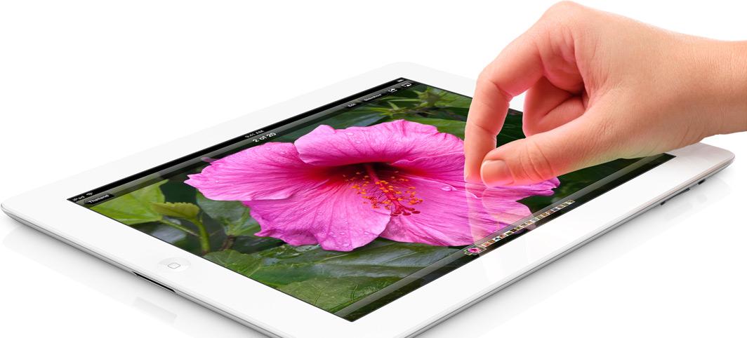 Beställ nya iPad på App Store