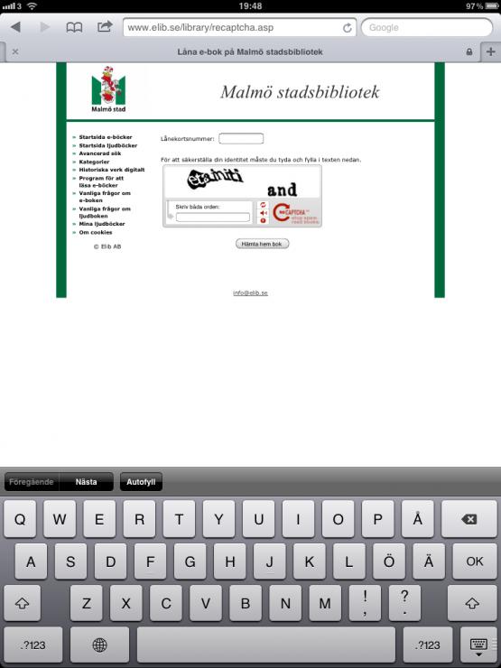 Malmö stadsbibliotek E-Böcker Skönlitteratur Brobyggarna Lån 2