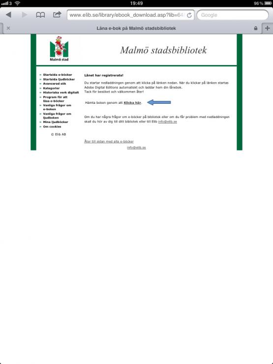 Malmö stadsbibliotek E-Böcker Skönlitteratur Brobyggarna Lån 3