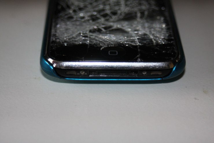 iPhone 3gs, trasig, krossad, display,