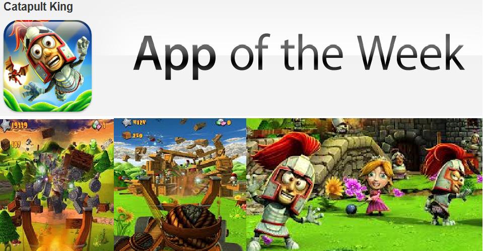 Catapult King, spel, free app a week, apple