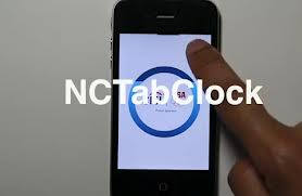 NCtabclock, klocka