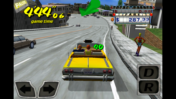 Crazy Taxi till iPhone