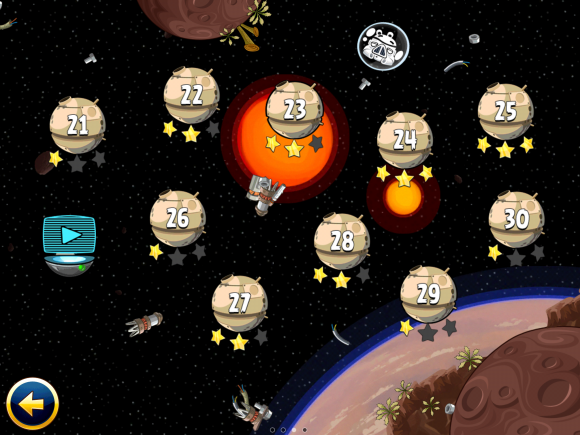 Angry Birds, Star Wars, Spel