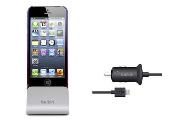 Billaddare och docka för iPhone 5 från Belkin iPhoneGuiden.se