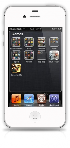 Folderenhancer för iPhone