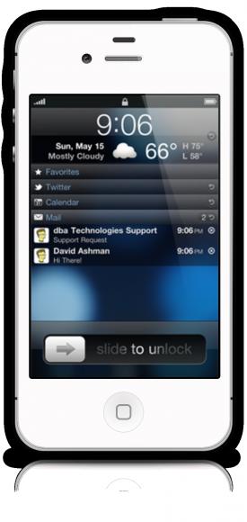 Lockfinfo för iPhone