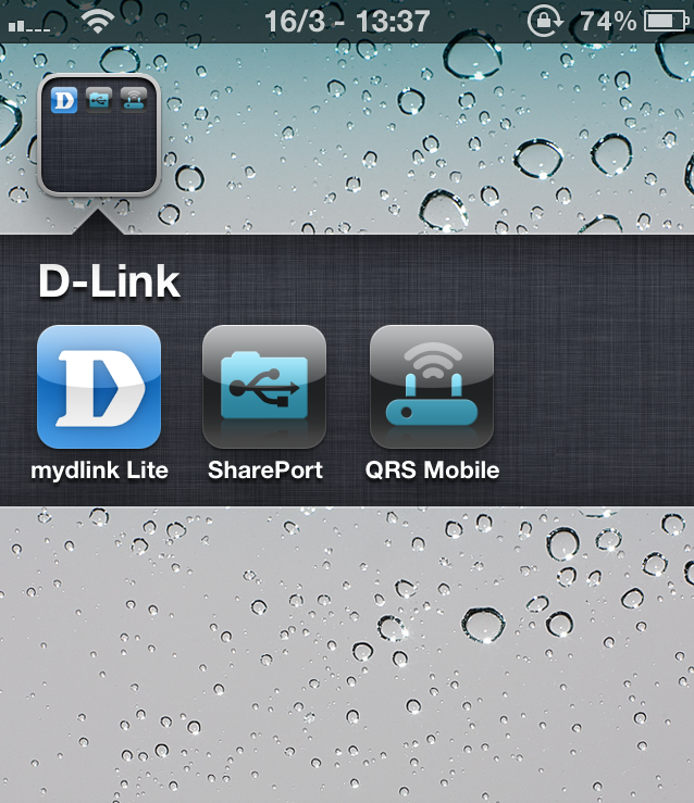 D-Link applikationer