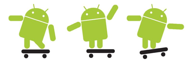androids olika ansikten