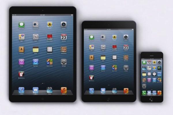 iPad 5, iPad mini & iPhone 5