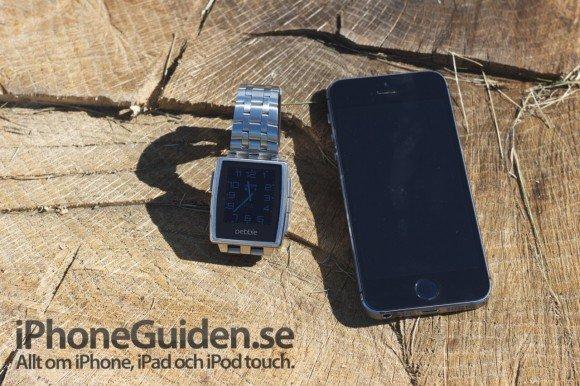 Pebble Steel & iPhone 5S