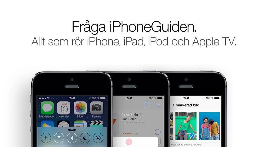 iPhoneGuiden Svarar