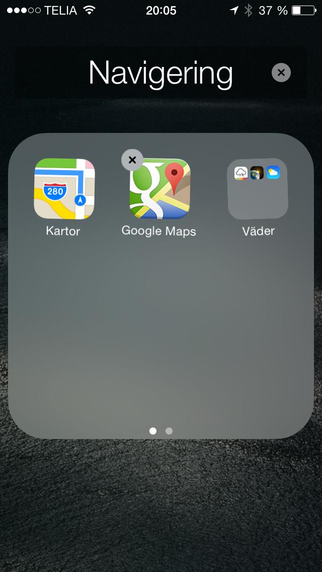 Mapp i en mapp