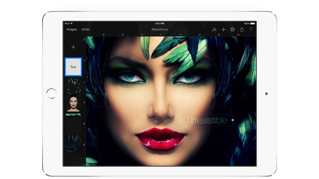 Pixelmator för iPad.