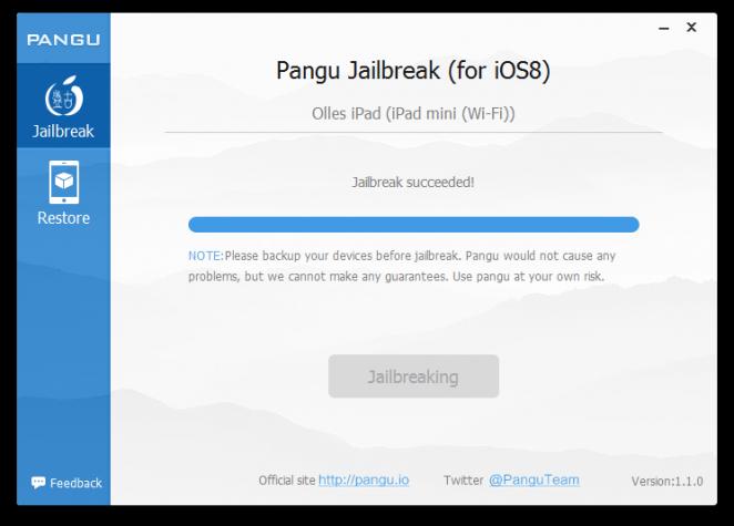 pangu-jailbreak-success