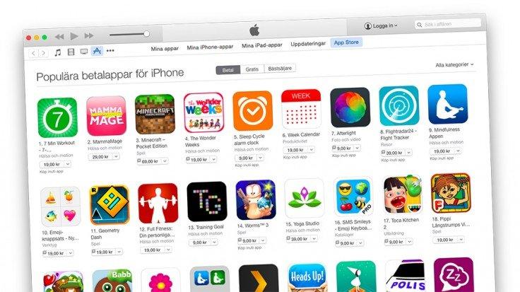 app-store-priser