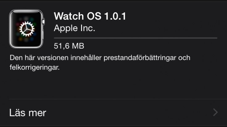 apple-watch-uppdatering-svenska