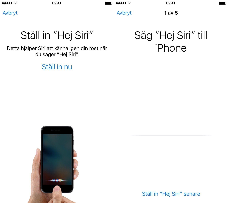 Hej Siri