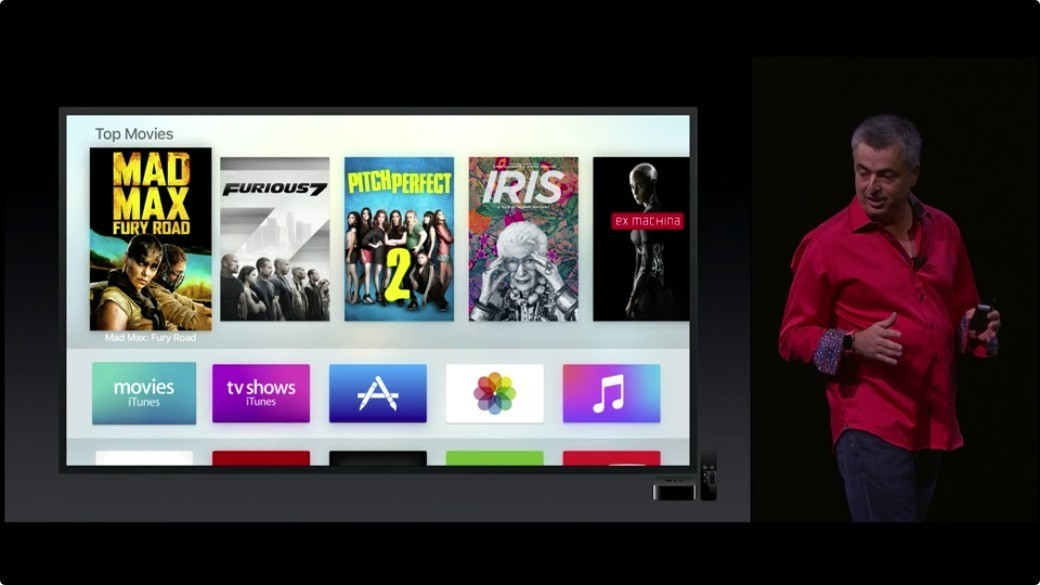 cue apple tv