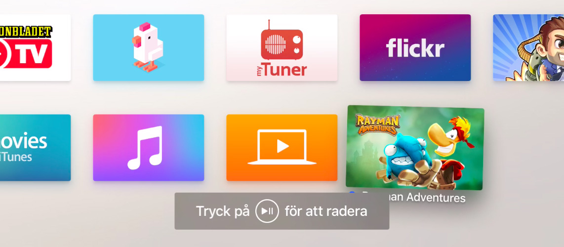 tips på appar till apple tv