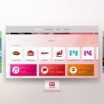 Tvångsavsluta appar i Apple TV