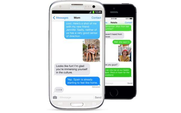 iMessage och android