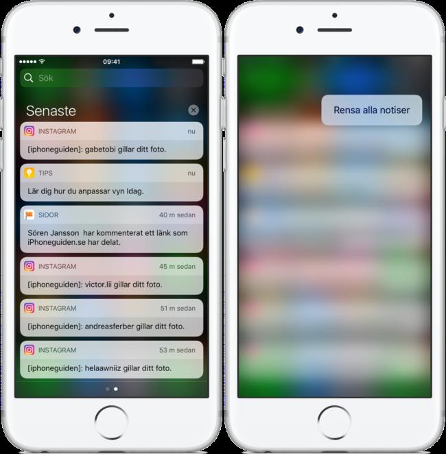 3D Touch iOS 10