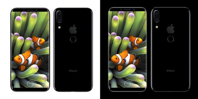 Konceptbild av iPhone 8