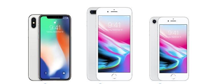 Iphone 8 och iphone 8 plus rekommenderas