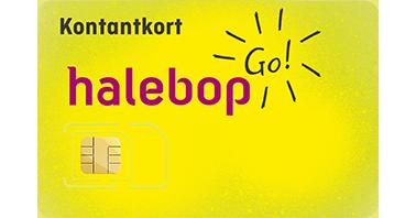 Halebop-kontantkort