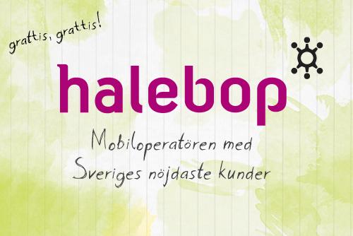 Halebop-logga