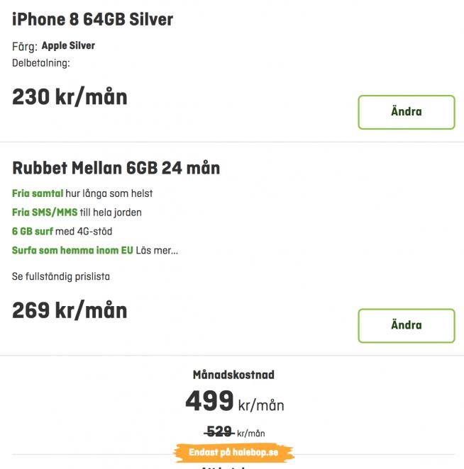 köpa mobil delbetalning