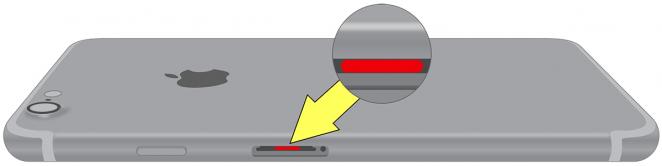 Iphone-7-vatskeindikator