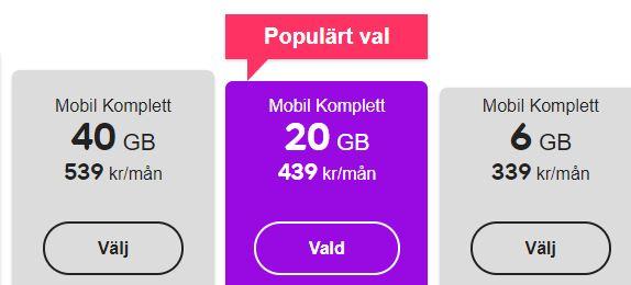 telia bindningstid mobil