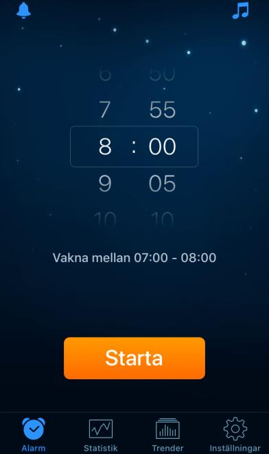 Starta-alarm