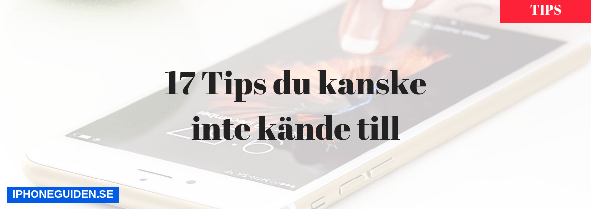 iPhone tips header-bild